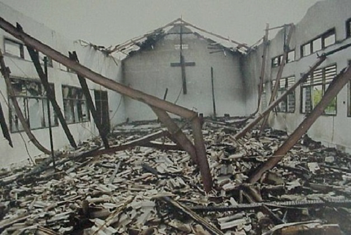 christian-church-burned